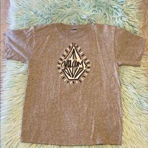 Boys Gray Volcom Shirt